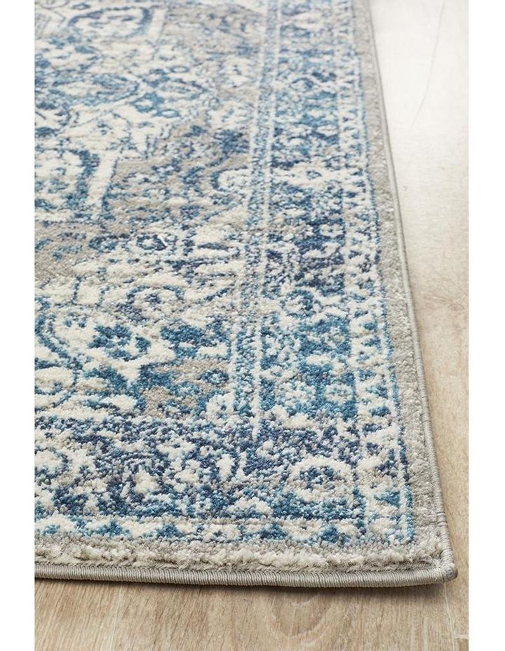 Babylon 207 Blue  Runner Rug image 3