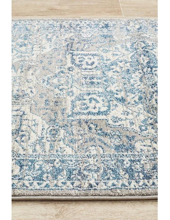 Babylon 207 Blue  Runner Rug image 4