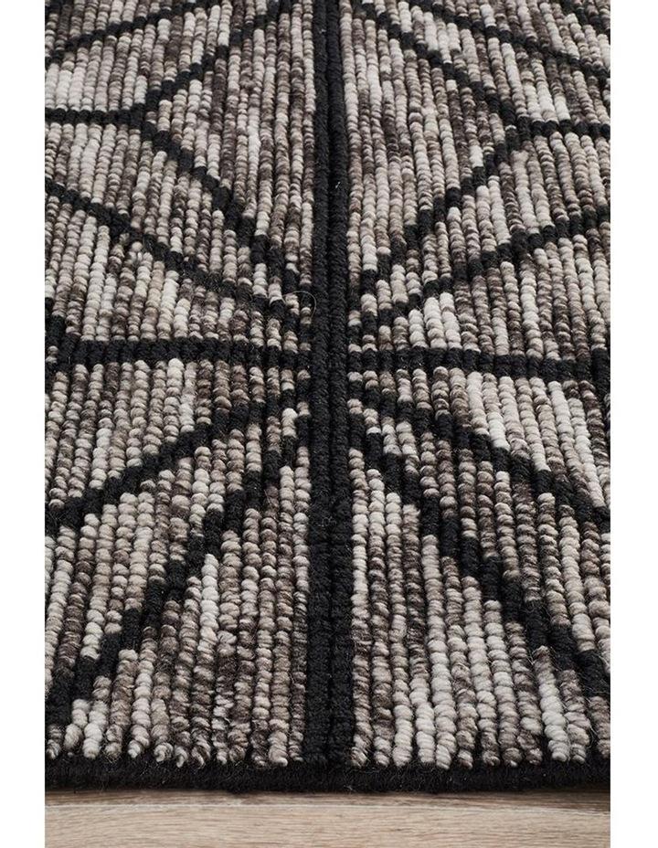 Miller Rhythm Motif Charcoal Rug image 4