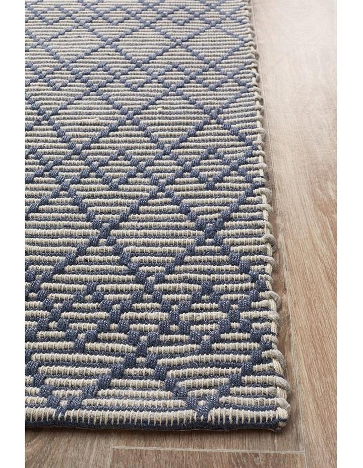 Deepa Stunning Wool Rug Denim Bone image 3