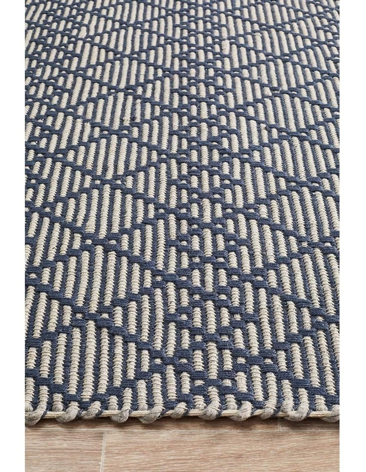 Deepa Stunning Wool Rug Denim Bone image 4