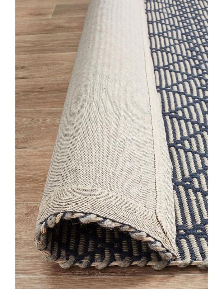 Deepa Stunning Wool Rug Denim Bone image 6
