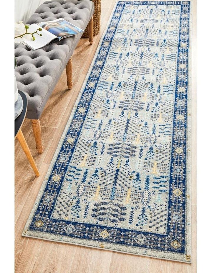 Century 988 Blue Runner Rug image 7