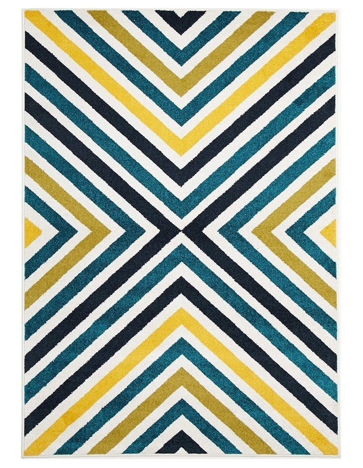 Marquee Indoor Outdoor 312 Blue Rug image 1