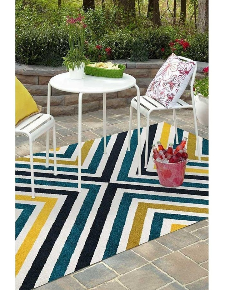 Marquee Indoor Outdoor 312 Blue Rug image 5