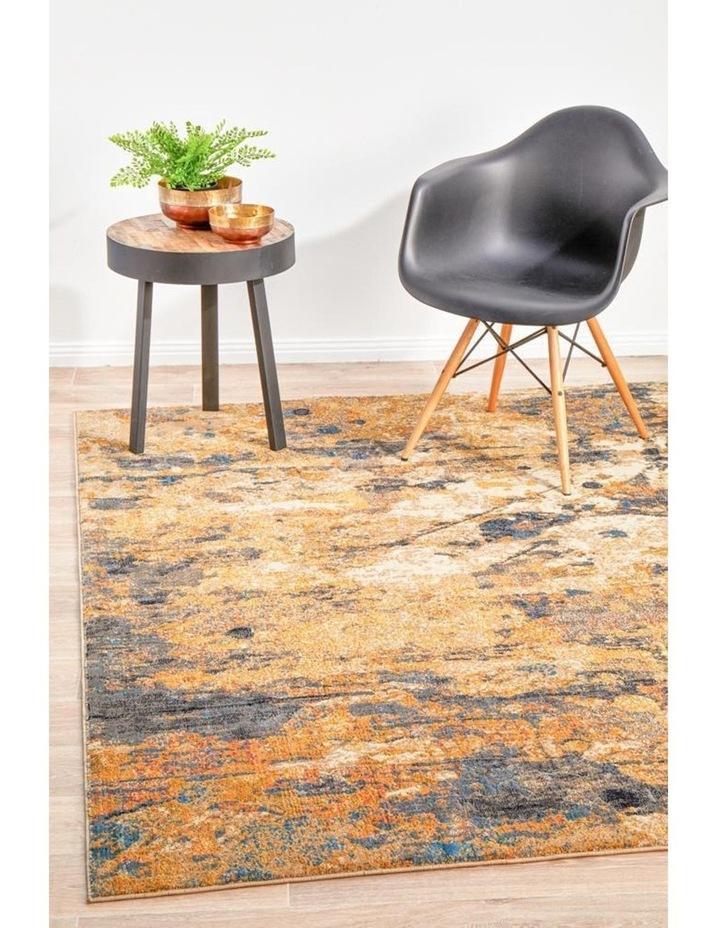 Dreamscape Tribute Modern Rust Rug image 2