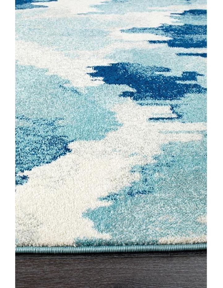Mirage Lesley Whimsical Blue Runner Rug image 2