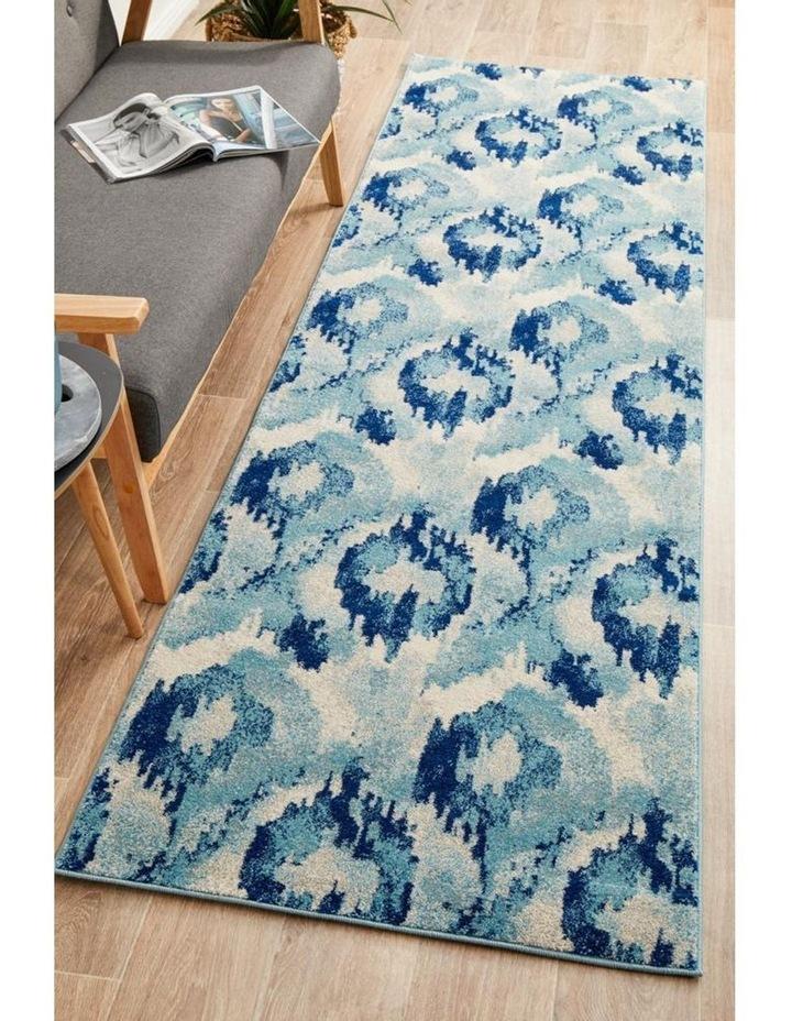 Mirage Lesley Whimsical Blue Runner Rug image 5