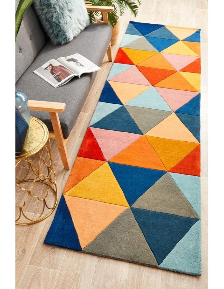 Matrix Pure Wool 905 Multi Runner Rug image 2