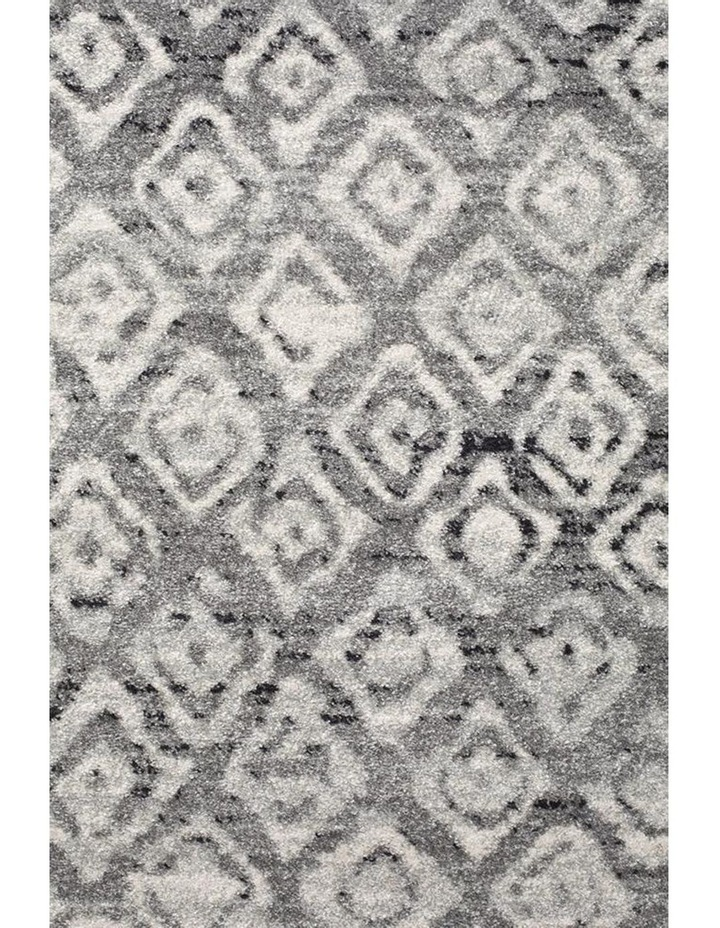 Oasis Zakira Dark Grey Tribal Round Rug image 3