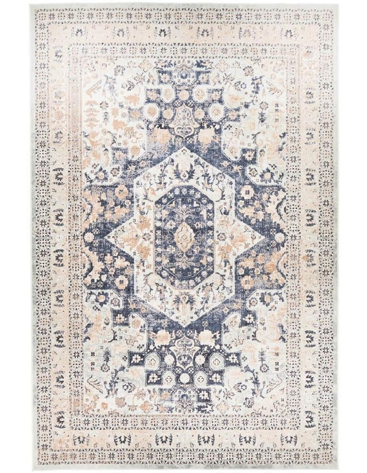 Providence Esquire Brushed Traditional Blue Rug image 2