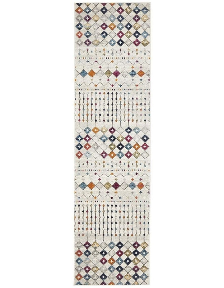 Mirage Peggy Tribal Morrocan Style Multi Runner Rug image 1