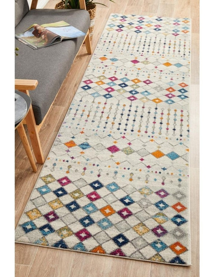 Mirage Peggy Tribal Morrocan Style Multi Runner Rug image 5