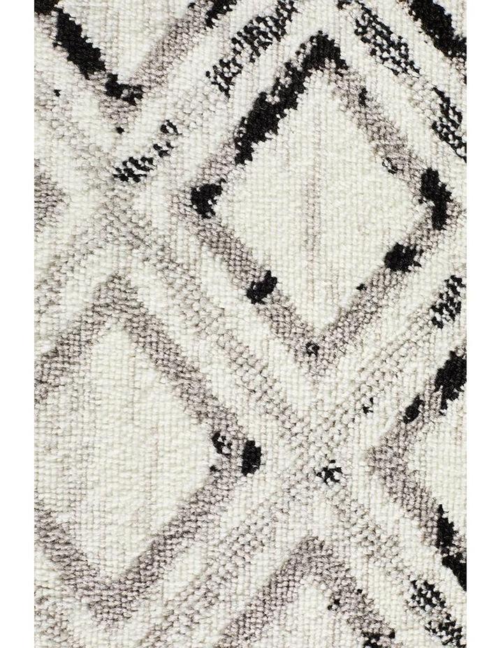 Jordyn Modern Rug White Black Grey image 5