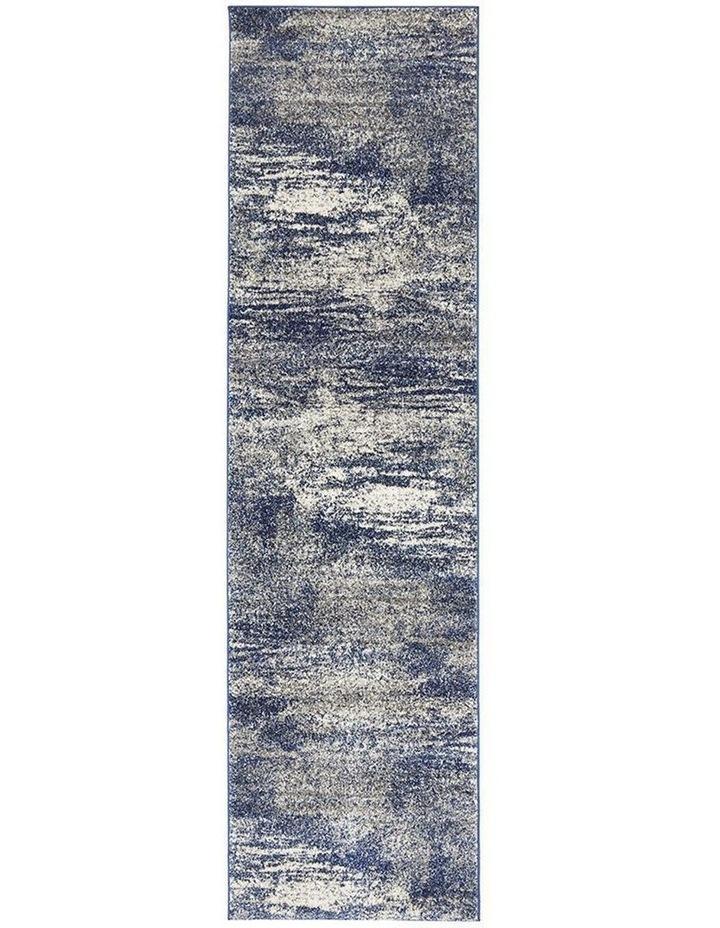 Mirage Casandra Dunescape Modern Blue Grey Runner Rug image 1