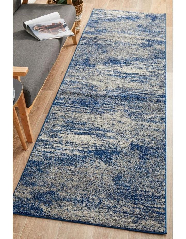 Mirage Casandra Dunescape Modern Blue Grey Runner Rug image 3