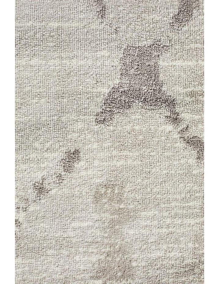 Kendall Contemporary Diamond Rug Silver Grey image 5