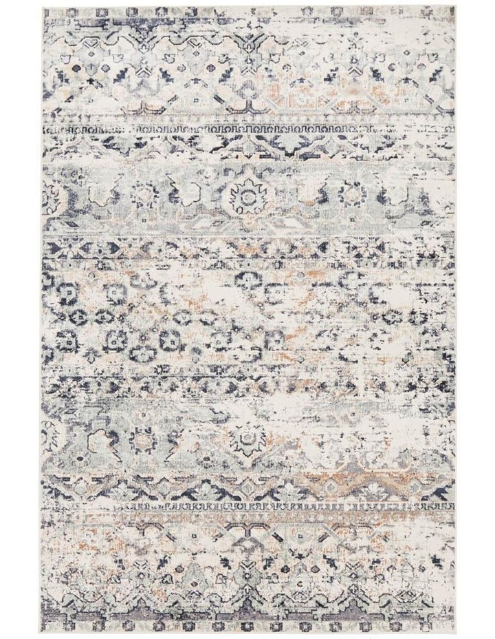 Providence Esquire Segments Traditional Blue Rug image 2