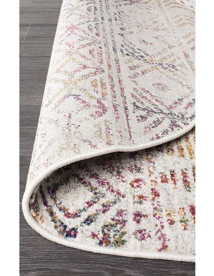 Oasis Ismail Multi Grey Rustic Round Rug image 4