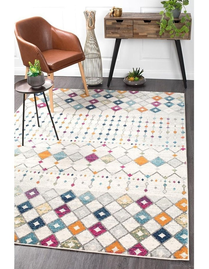 Mirage Peggy Tribal Morrocan Style Multi Rug image 2