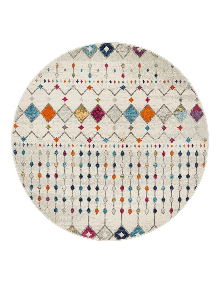 Mirage Peggy Tribal Morrocan Style Multi Round Rug image 1