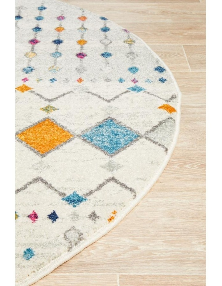Mirage Peggy Tribal Morrocan Style Multi Round Rug image 3