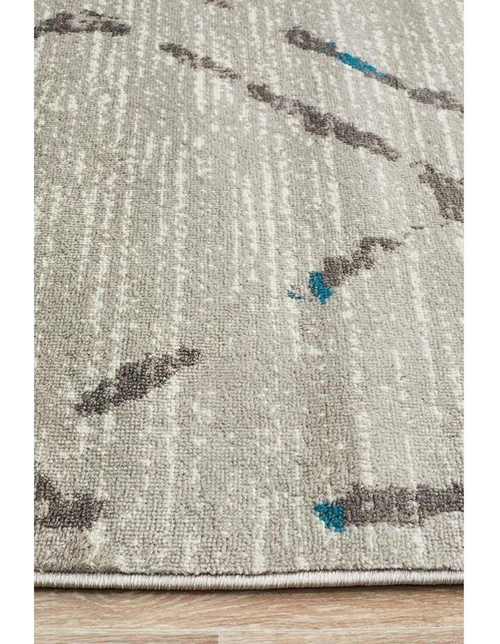Kendall Contemporary Diamond Rug Grey Blue image 4
