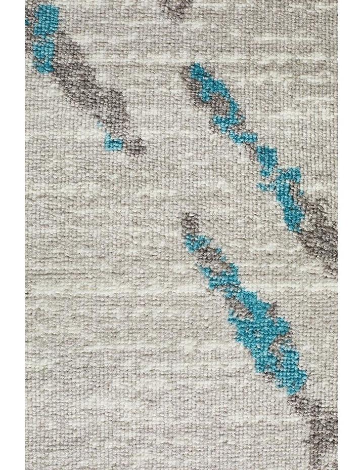 Kendall Contemporary Diamond Rug Grey Blue image 5