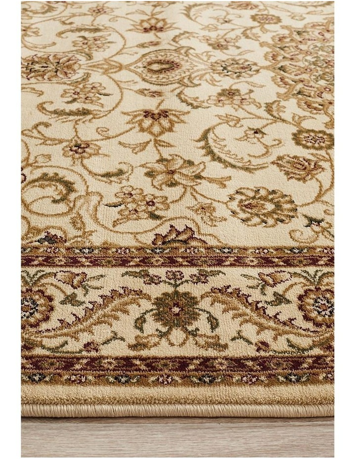 Sydney Collection Medallion Rug Ivory with Ivory Border image 5
