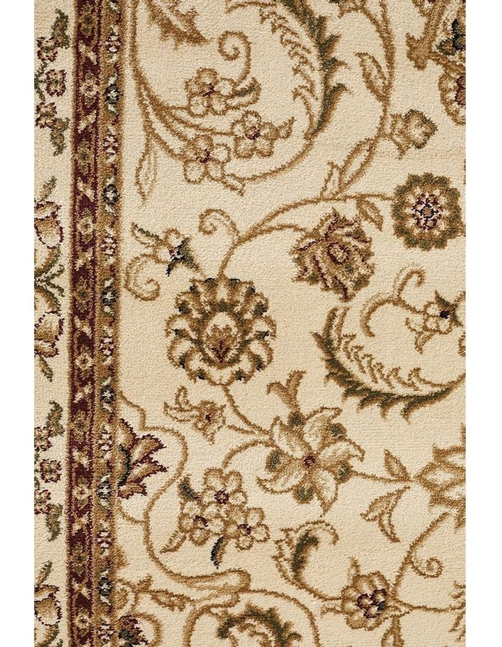 Sydney Collection Medallion Rug Ivory with Ivory Border image 6