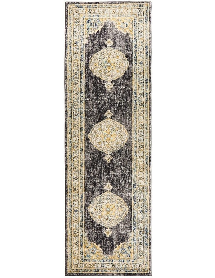 Century 955 Charcoal Runner Rug image 1