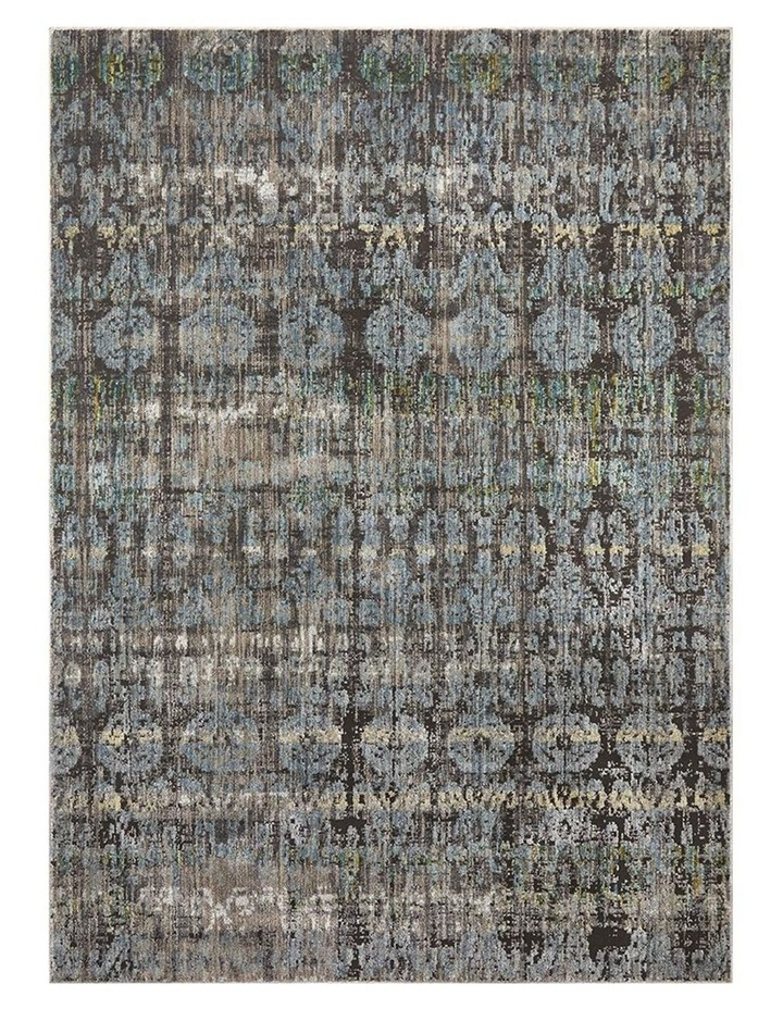 Jezebel Fluid Nights Modern Blue Rug image 1