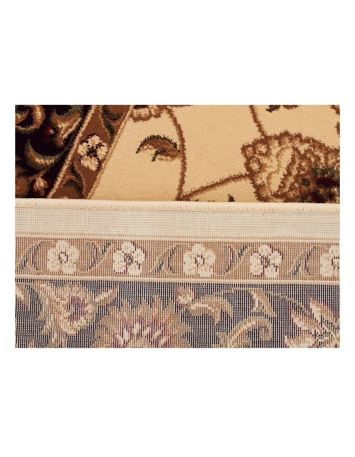 Sydney Collection Classic Rug Ivory with Black Border image 3