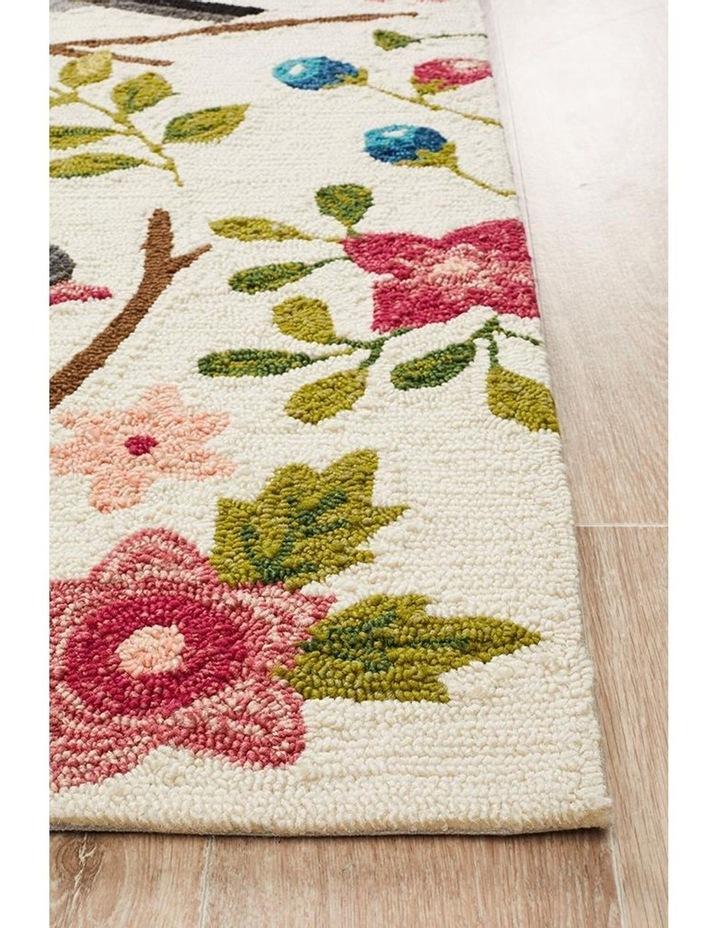 Copacabana Finch and Nest Exquisite Indoor Outdoor Rug Cream image 3