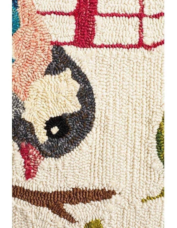 Copacabana Finch and Nest Exquisite Indoor Outdoor Rug Cream image 5
