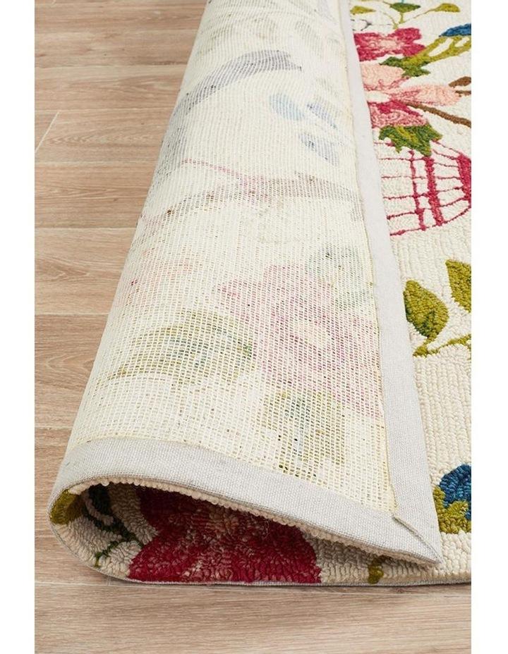Copacabana Finch and Nest Exquisite Indoor Outdoor Rug Cream image 6