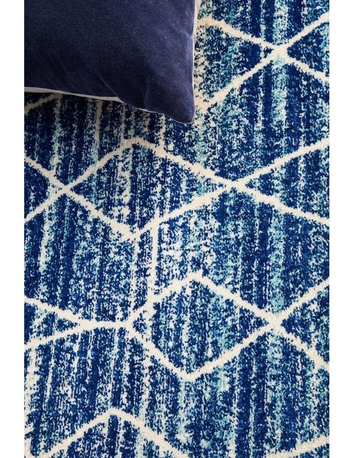 Evoke Culture Blue Transitional Round Rug image 5