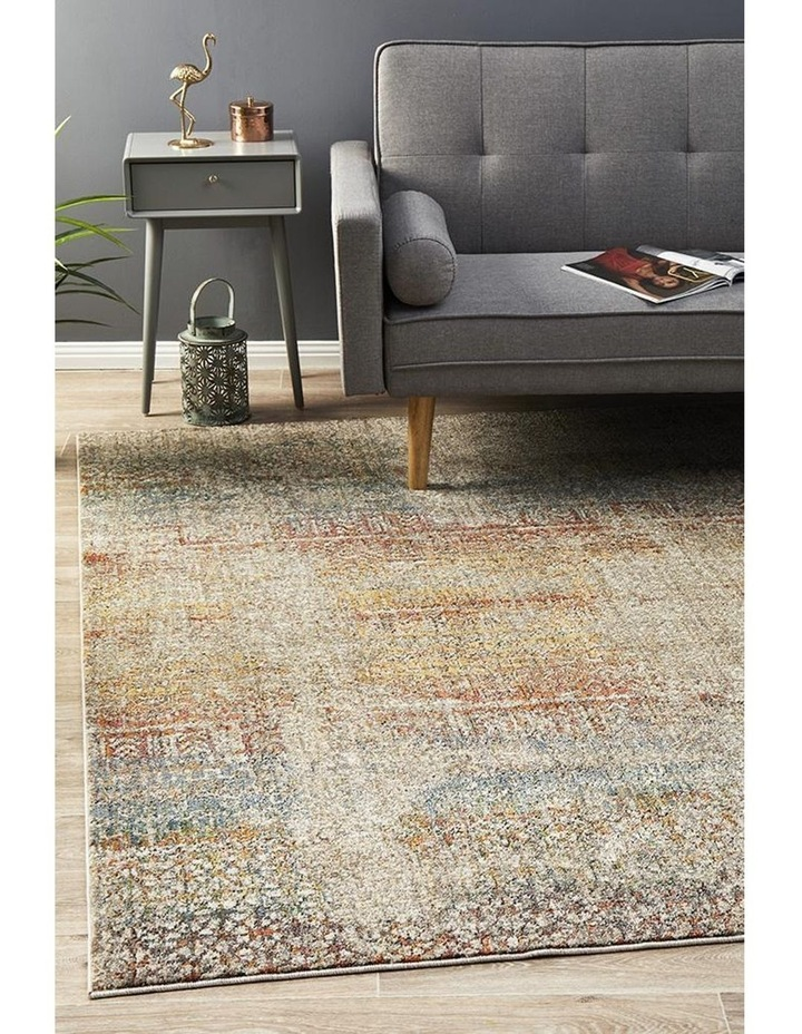 Jezebel Fluid Rainbows Modern Multi Rug image 6