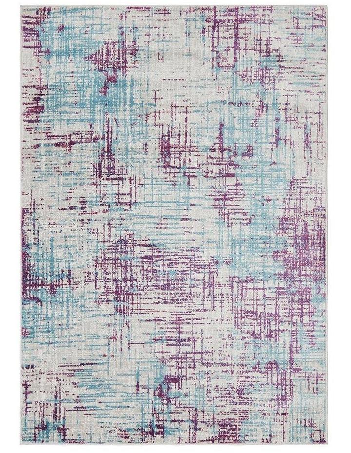 Skyler Abstract Rug Grey Blue Purple image 1