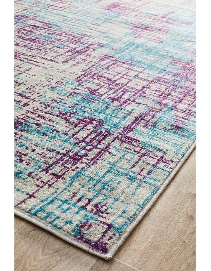 Skyler Abstract Rug Grey Blue Purple image 2