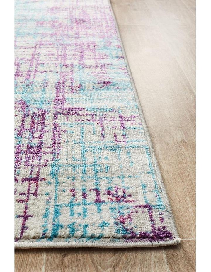 Skyler Abstract Rug Grey Blue Purple image 3