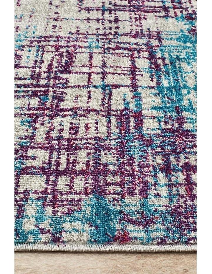 Skyler Abstract Rug Grey Blue Purple image 4