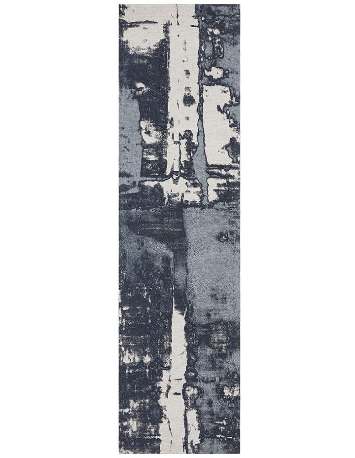 Magnolia 11 Denim Runner Rug image 1