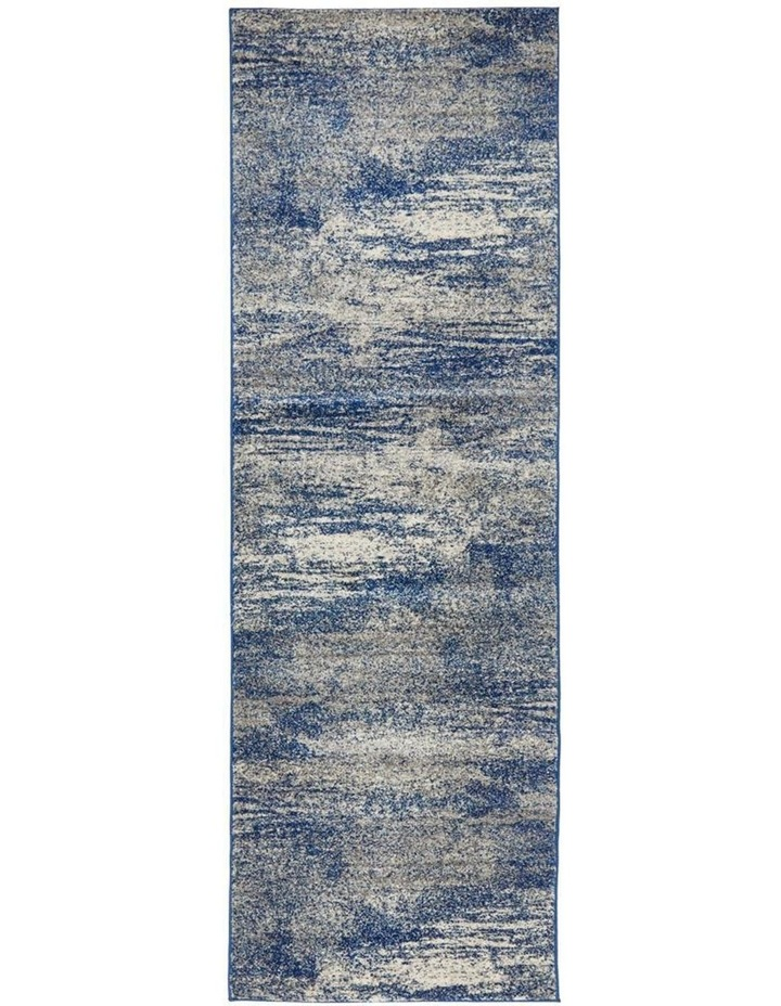 Mirage Casandra Dunescape Modern Blue Grey Rug image 1