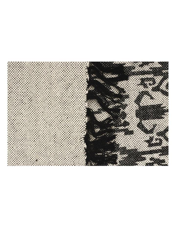 Zulu Totemic Convene Black Rug image 3