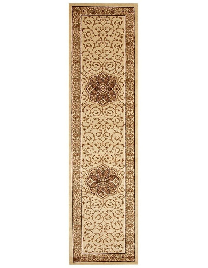 Istanbul Collection Medallion Classic Pattern Ivory Rug image 1