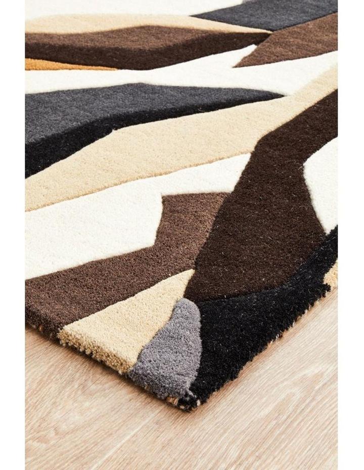 Matrix Pure Wool 903 Fossil Runner Rug image 6