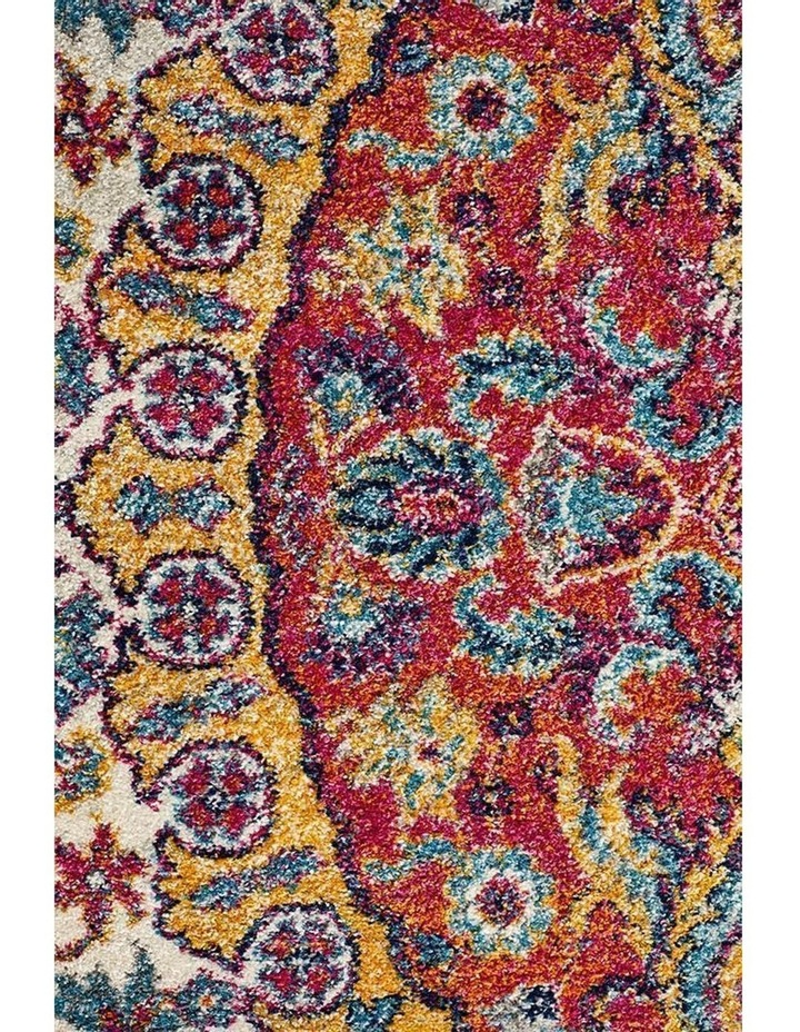 Museum Shelly Rust Round Rug image 2