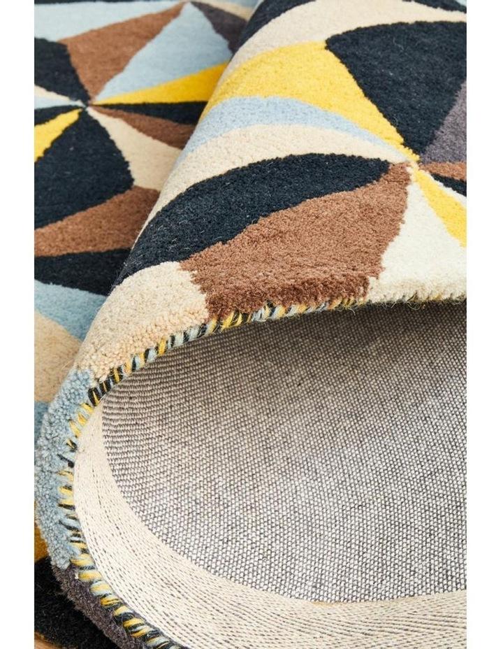 Matrix Pure Wool 900 Blue Round Rug image 6