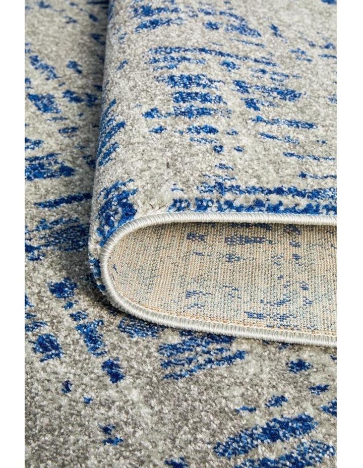 Mirage Ashley Abstract Modern Blue Grey Rug image 3